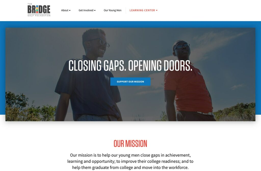 Bridge Golf Foundation screenshot