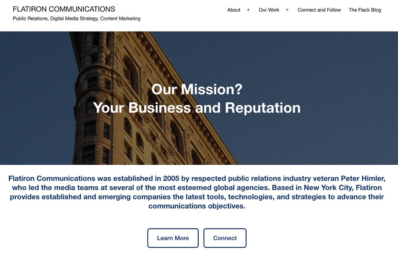 Flatiron Communications screenshot